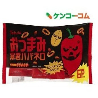 6Pおつまみ 暴君ハバネロ ( 12g6袋 )/ 東ハト