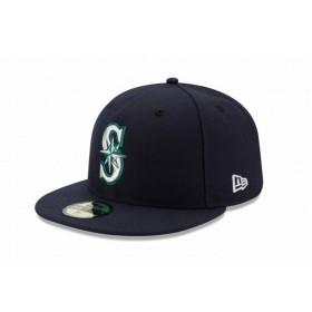 ニューエラ(NEW ERA) 59FIFTY MLB オンフィールド シアトル・マリナーズ ゲーム 11449340