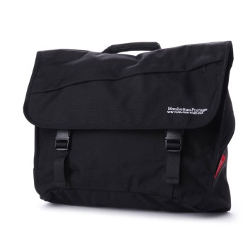 マンハッタンポーテージ Manhattan Portage Van Wyck Messenger Bag (Black)