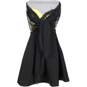 《期間限定セール開催中!》IMPERO COUTURE レディース ミニワンピース&ドレス イエロー 40 ポリエステル 100%