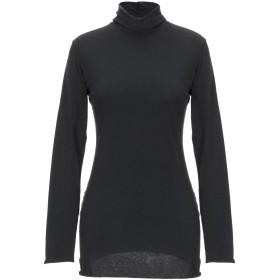 《期間限定セール開催中!》EUROPEAN CULTURE レディース T シャツ ブラック L コットン 95% / ポリウレタン 5%