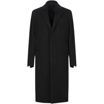 《期間限定セール開催中!》CARUSO メンズ コート ブラック 48 ウール 70% / モヘヤ 30%
