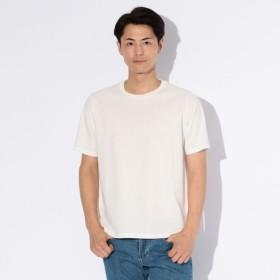 SALE【マッキントッシュ フィロソフィー メン(MACKINTOSH PHILOSOPHY MEN)】 サーフニット MP刺繍Tシャツ ホワイト
