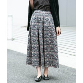 (KAGURE/かぐれ)リバティプリントギャザースカート/レディース STRAWBERRY 送料無料