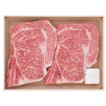 肉 送料無 牛肉 ギフト セット 送料無料 メーカー直送 三重県産 松阪牛 ロースステーキ RST36-150MA (1)