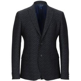 《期間限定セール開催中!》BRIAN DALES メンズ テーラードジャケット ブラック 48 コットン 60% / ウール 40%