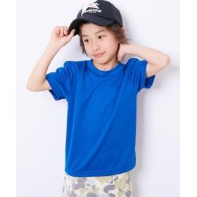 【吸汗速乾。UVカット】ドライメッシュ無地Tシャツ(男の子 女の子 子供服 ジュニア服) Tシャツ・カットソー