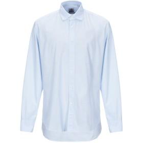 《期間限定 セール開催中》MOSCA メンズ シャツ ホワイト 43 コットン 100%