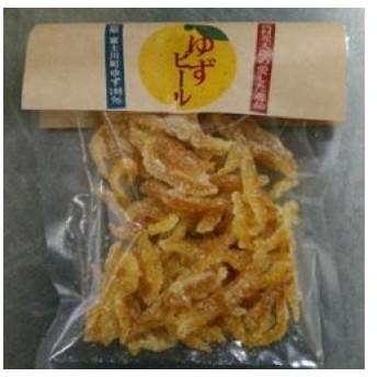 富士川町穂積地区産の柚子を使用!ゆずピール(80g×4袋) (セット)