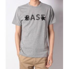 【60%OFF】ナノ・ユニバース:BASE刺繍TシャツSSメンズグレーM【nano・universe】【セール開催中】