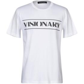 《期間限定セール開催中!》ALESSANDRO INGLESE メンズ T シャツ ホワイト XS コットン 100%