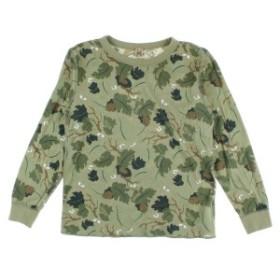HYSTERIC MINI  / ヒステリックミニ キッズ Tシャツ・カットソー 色:カーキx茶x黒等(総柄) サイズ:140