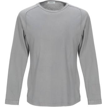 《セール開催中》CROSSLEY メンズ T シャツ ライトグレー L コットン 100%
