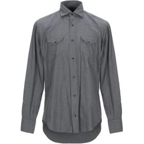 《セール開催中》ELEVENTY メンズ シャツ グレー 38 コットン 100%