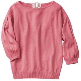 50%OFF【レディース】 バルーンスリーブニット - セシール ■カラー:ピンク ■サイズ:L,S,M