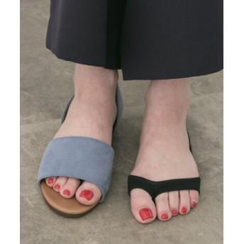 POP UP SHOP(ポップアップショップ) ルーム&インナー ソックス 靴下屋 オープントウトングカバーソックス