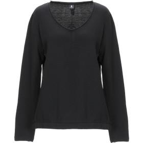 《セール開催中》EUROPEAN CULTURE レディース スウェットシャツ ブラック S コットン 100%