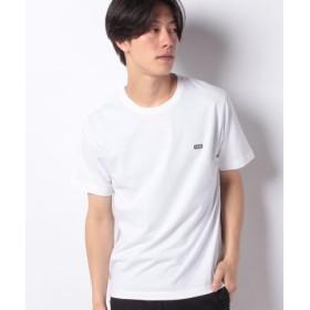 (WEGO/ウィゴー)WEGO/ワンポイントボックス刺繍ロゴTシャツ/ユニセックス ホワイト系