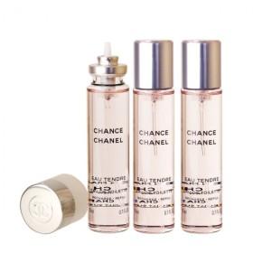 シャネル CHANEL チャンス オー タンドゥル ツイスト EDT (リフィル) 20ml × 3 (女性用香水)