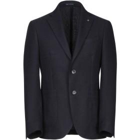《期間限定セール開催中!》DURINI Milano メンズ テーラードジャケット ダークブルー 48 ウール 100%