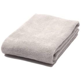 洗ってもふっくらバスタオル グレー ホームコーディ グレ-