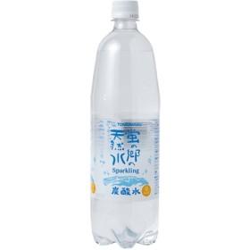 蛍の郷の天然水 スパークリング (1L15本入)