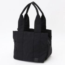【撥水・軽量】コンパクトに収納できる☆ピーチナイロントートバッグM