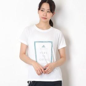 [マルイ]【セール】【アディダス】レディースTシャツ(W M4T メッセージプリントTシャツ)/アディダス(adidas)