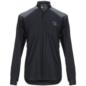 《期間限定セール開催中!》FRANKIE MORELLO メンズ シャツ ブラック S コットン 96% / ポリウレタン 4%