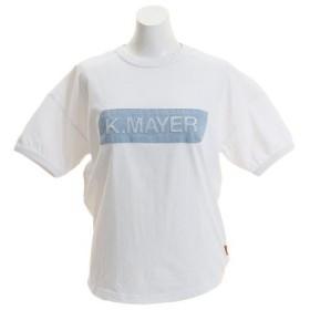 クリフメイヤー(KRIFF MAYER) ブランドロゴ ゆる エンボス 半袖Tシャツ 1857231L-1-WHT (Men's、Lady's)