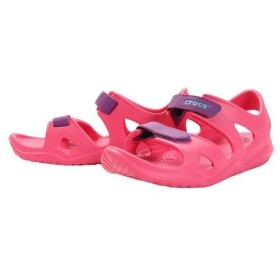 クロックス(crocs) Swiftw River K Pnk #204988-60O (Jr)
