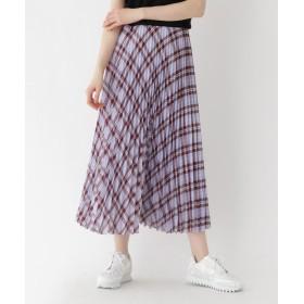 DRESSTERIOR(Ladies)(ドレステリア(レディース)) シアーチェックプリーツスカート