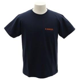 クリフメイヤー(KRIFF MAYER) ブランドロゴTシャツ 1919902-3-NVY (Men's)