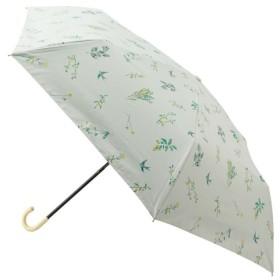 ビス/【晴雨兼用】【UV加工】遮光野の花ミニ傘/ホワイト/F