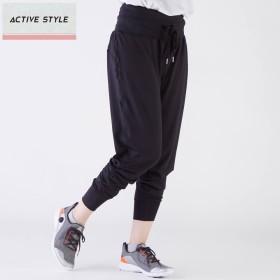 GUNZE グンゼ ACTIVE STYLE(アクティブ スタイル) フィットネスパンツ(レディース) ブルー L