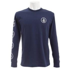 ボルコム(Volcom) XO Sleeve Print 長袖Tシャツ 17F A51317JD NVY (Men's)