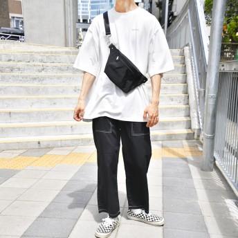 パンツ・ズボン全般 - kutir 【kutir】ステッチワイドクロップドパンツ