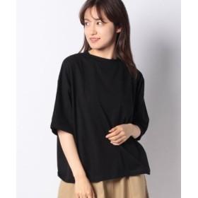 (koe/コエ)・オーガニックコットンオーバーサイズTシャツ/レディース ブラック