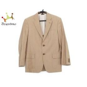 ランバンコレクション LANVIN COLLECTION ジャケット サイズ46 L メンズ ベージュ ネーム刺繍   スペシャル特価 20190821