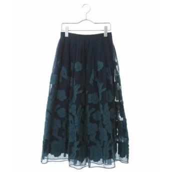 HIROKO BIS / 花柄オーガンジースカート