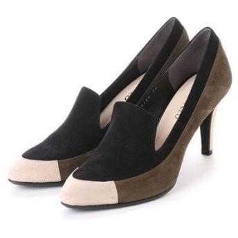 アンタイトル シューズ UNTITLED shoes パンプス UT6188 (ブラックスエードコンビ)
