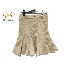エポカ EPOCA スカート サイズ42 L レディース 美品 ブラウン  値下げ 20190815