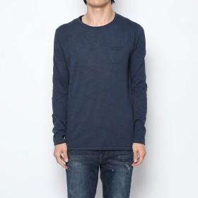 ニット・セーター - GUESS【MEN】 [GUESS] ROUND NECK VANITY SWEATER