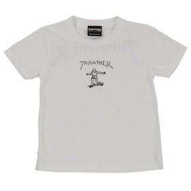 THRASHER ジュニア GONZ ロゴ Tシャツ TH8128KW-HL (Jr)