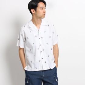 [マルイ]【セール】コットン刺しゅう開襟シャツ/デッサン(メンズ)(Dessin Mens)
