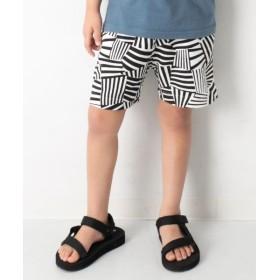 [マルイ] 子供服 キッズ 韓国子供服 総柄裏使い ハーフパンツ 男の子 女の子 ズボン 100-160/デビロック(devirock)