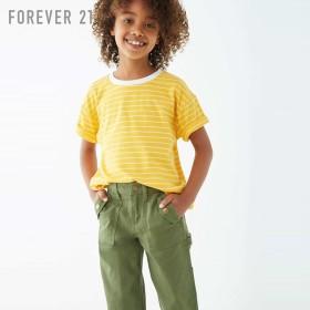 FOREVER21 フォーエバー21 【[KIDS]ボーダークルーネックTシャツ】(5,000円以上購入で送料無料)