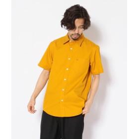 アヴィレックス ツイルシャツ/ SS TWILL SHIRT メンズ MUSTERD L 【AVIREX】