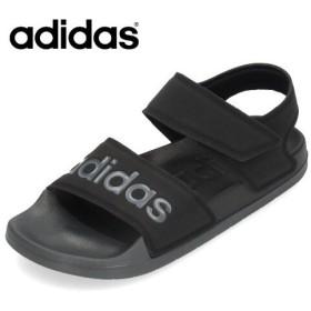 adidas アディダス レディース メンズ サンダル アディレッタ サンダル F35417 ブラック ADILETTE SANDAL ストラップ