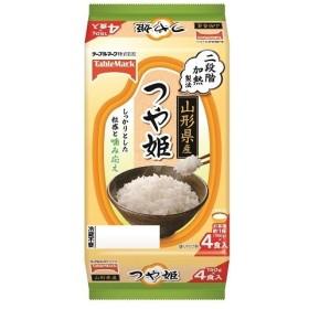 パックご飯 テーブルマーク 山形県産 つや姫 (分割)150g 4食入